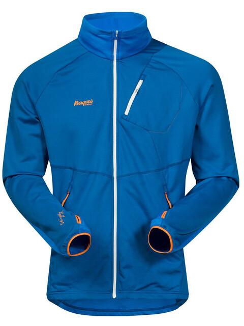 Bergans M's Galdebergtind Jacket Ocean/Athens Blue/Pumpkin